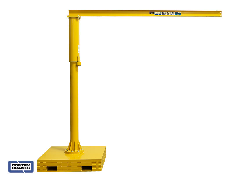 Small Jib Crane : Portable jib cranes from contrx