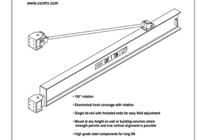 Wall-Mount-Overbraced-Tie-rod-view