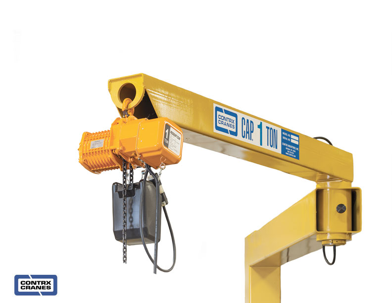 Jib Crane Maintenance : Articulating jib crane from contrx cranes